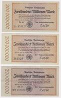 DEUTSCHLAND, Deutsche Reichsbahn Berlin, 3 X 200 Millionen Mark - Other