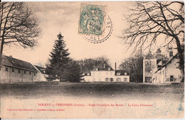 NOGENT SUR VERNISSON-ECOLE FORESTIERE DES BARRES-LA COUR D'HONNEUR - Other Municipalities