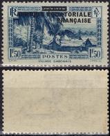 AEF Afrique Equatoriale Française  25 ** MNH Village Gabonais (CV 13 €) - Ongebruikt