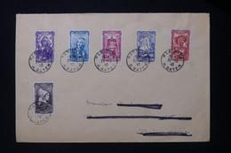 FRANCE - Enveloppe FDC De Paris En 1943 - Série Coiffes - L 83987 - ....-1949