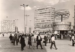 DC1242 - Ak BERLIN Alexanderplatz Leipziger Herbstmesse Marke - Mitte