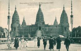 MARSEILLE -Expo Coloniale 1922 - Palais De L'Indochine - - Exposiciones Coloniales 1906 - 1922