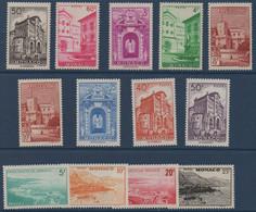 MON 1948-1949  Vues De La Principauté  N° YT 307-313C  ** MNH - Neufs