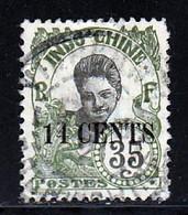 Indochine 1919 Yvert 81a (o) B Oblitere(s) Variete - Gebraucht