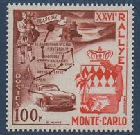 MON 1956  26ème  Rallye De Monte-Carlo  N° YT  332-333  ** MNH - Nuevos