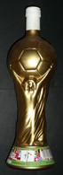 Rare Bouteille De Vin Italien PLEINE, Coupe Du Monde De Football Mundial Mondiale 90 1990, Italie, Castel Del Monte Vini - Wine