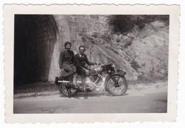 MOTOCICLETTA  NON IDENTIFICATA  -  MOTO - MOTORCYCLE - FOTO ORIGINALE - Automobili
