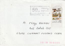 N° 2867 SEUL SUR LETTRE DE ROYAN 1995 - 1961-....