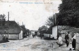 (155) CPA  Vaupoisson  Route D' Arcis  (bon Etat) - Altri Comuni