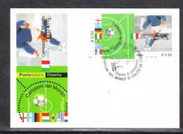 Italia  - 2002. In Ricordo Di Italia Champion 1982. Emiss Congiunta Con Francia, Argentina, Brasile, Germania,Uruguay - Covers & Documents