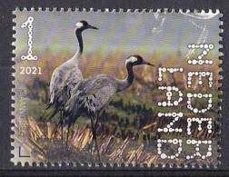 Nederland - Beleef De Natuur - 4 Januari 2021 - Dwingelerveld - Kraanvogels - MNH - Cranes And Other Gruiformes