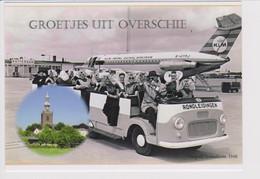 Rppc KLM K.L.M. Royal Dutch Airlines BAC 1-11 Aircraft @ Rotterdam Airport - 1946-....: Modern Era