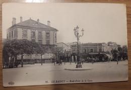 Carte Postale Le Raincy Rond Point De La Gare (magasin Maison Félix Potin) 1914 - Le Raincy