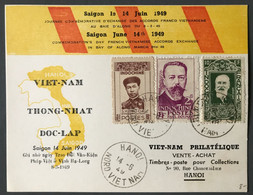 Vietnam, Carte Commémorative, Accords Franco Vietnamiens 14 Juin 1949 - (C1833) - Vietnam