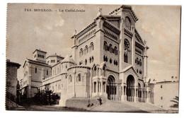 MONACO--1912--La Cathédrale ...............timbre....cachet Monte-Carlo - Saint Nicholas Cathedral