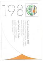 ONU Genève  Encart  1980  N° 88 à 95  Et Bloc N° 2 Oblitérés TB  Le 21/11/1980  Soldes Le Moins Cher Du Site   ! ! ! - Gebraucht