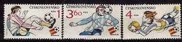 TCHECOSLOVAQUIE    N° 2470/72 *     Cup  1982     Football Soccer Fussball - 1982 – Espagne