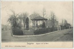 Soignies - Square De La Gare  1908 - Soignies