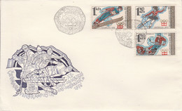 TCHECOSLOVAQUIE LETTRE FDC J O INNSBRUCK - FDC