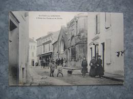 ST FORT SUR GIRONDE - L' HOTEL DES POSTES ET LES HALLES - Other Municipalities