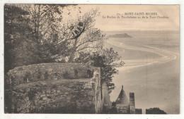 50 - MONT-SAINT-MICHEL - Le Rocher De Tombelaine Vu De La Tour Claudine - Nozais 79 - 1922 - Le Mont Saint Michel