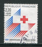 FRANCE-Y&T N°2555- Oblitéré (croix Rouge) - Used Stamps
