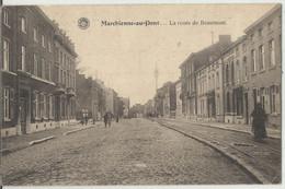Marchienne-au-Pont - La Route De Beaumont  1923 - Charleroi