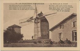 32 La Gascogne Historique   MONTFERRAN-SAVES   COLOGNE  Le Moulin A Vent - Andere Gemeenten