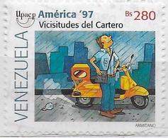 VENEZUELA - 1997 - AMERICA UPAEP - B 280 - USATO (YVERT 1929 - MICHEL 3112) - Venezuela