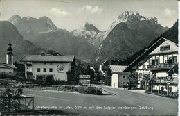 010017  Strassenpartie In Lofer Mit Den Loferer Steinbergen  1962 - Lofer