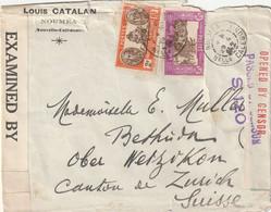 Enveloppe Nouméa ( Nouvelle Calédonie ) Louis Catalan - Unclassified