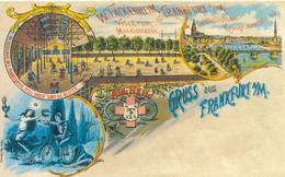 Gruss Aus Frankfurt A/M Velodrom Moselstrasse - Frankfurt A. Main