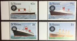 St Vincent 1990 Rotary Ships MNH - St.Vincent (1979-...)