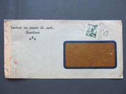BRIEF Slavosovce Zensur 1942  ////  G3042 - Sin Clasificación