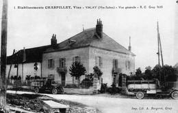 VALAY (Haute-Saône) - Ets CHARPILLET, Vins - Vue Générale. - Other Municipalities
