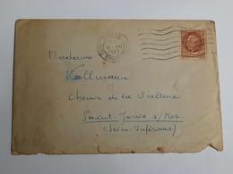 Enveloppe Prisonnier Lager Norderney Cherbourg Oberkommando Der Whermacht Geoffnet 1943 - 1939-45