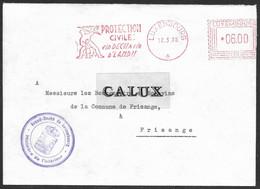 Luxembourg / Luxemburg Lettre Ministere De L'interieur Au Bourgmestre De Frisange 12.03.1978 - Briefe U. Dokumente