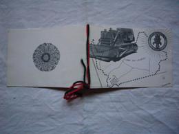 Carte Postale Vierge Illustrée Camp Du Larzac Légion étrangère CPLE - Documenti