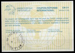 FRANCE La28 Ms. 6,80International Reply Coupon Reponse Antwortschein IAS IRC o 85 L'ILE D'YEU VENDEE 6.8.97 - Buoni Risposte