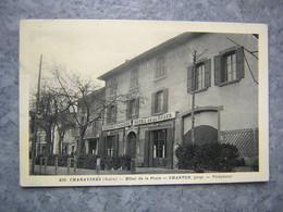 CHARAVINES - HOTEL DE LA POSTE - CHARTON - Charavines