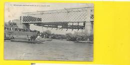Les PONT De CE Catastrophe Du 4 Août 1907 (Cauville Duvivier) Maine Et Loire (49) - Les Ponts De Ce