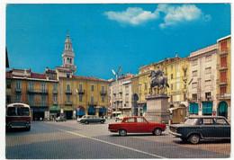 CASALE MONFERRATO - PIAZZA MAZZINI - ALESSANDRIA - 1970 - AUTOMOBILI - CARS - BUS - Alessandria