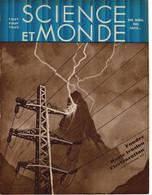 1931 SCIENCE & MONDE N°15 Electricité Chez Soi, Menace? Programme Naval De Demain,Crise De Blé, Les SIREX Xylophages... - Wetenschap