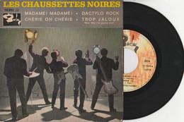 """LES CHAUSSETTES NOIRES """"Madame! Madame"""" Vinyle 45 Trs (4 Titres) 1961 (Lot 334) - Rock"""