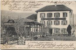 LE LANDERON NE 1905 Brasserie Federal - NE Neuchâtel