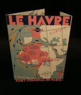 ( Seine-Maritime Colonies Françaises ) LE HAVRE, PORT COLONIAL DE PARIS Imprimerie DRAEGER  1930 - Ohne Zuordnung