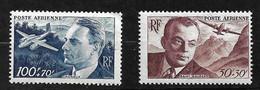 France Poste Aérienne   N° 21 Et  22  Neufs  * *  B/TB = MNH F/VF  Soldé  à Moins De 15 %    Le Moins Cher Du Site ! ! ! - 1927-1959 Mint/hinged