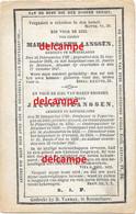 Bidprentje Jacobus Lanssen Roeselare 1790 PASTOOR TE KEMMEL OUDENAARDE DIRECTEUR Wervik Overleden Sint Baafs Vijve 1847 - Devotieprenten