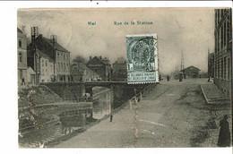 CPA Carte Postale Belgique-Hal -Rue De La Station -1911-VM25917m - Halle