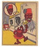 Chromo Banania Signé Vica (n° 10 ) - Affiche, Tour Eiffel, Banane, Y'a Bon - Banania